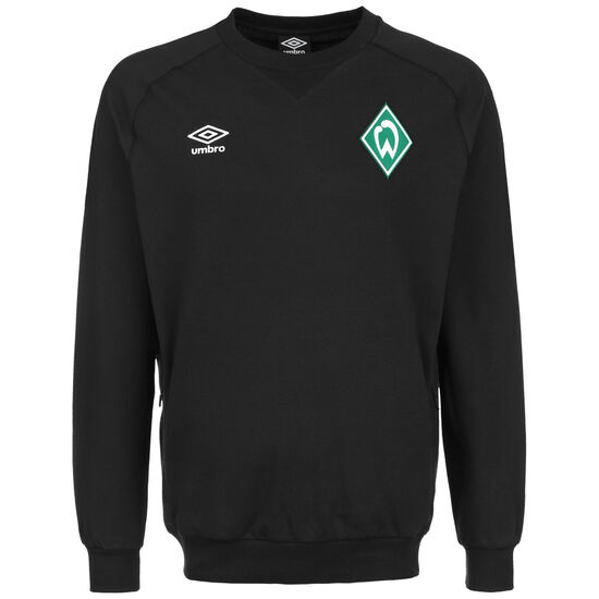 SV Werder Bremen Travel Sweatshirt Herren, schwarz, zoom bei OUTFITTER Online