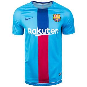 FC Barcelona Dri-FIT Squad Trainingsshirt Herren, blau / rot, zoom bei OUTFITTER Online