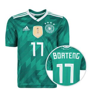 DFB Trikot Away Boateng WM 2018 Kinder, Grün, zoom bei OUTFITTER Online