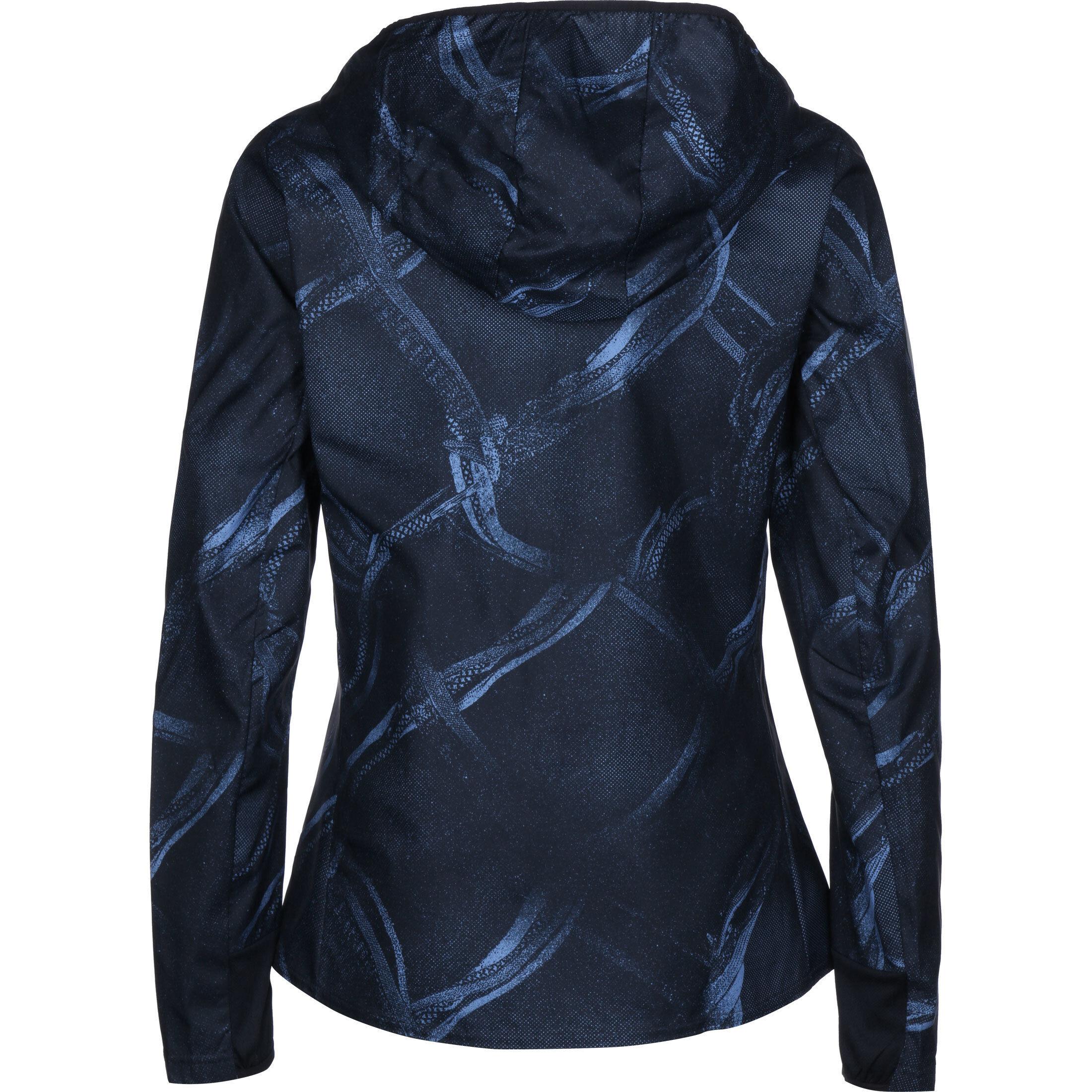adidas Own The Run Jacket Laufjacke Damen Blau online kaufen