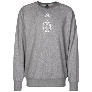 Spanien Seasonal Special Sweatshirt EM 2021 Herren, grau / weiß, zoom bei OUTFITTER Online