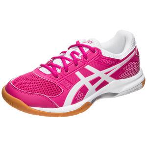 GEL-Rocket Handballschuh Damen, pink / weiß, zoom bei OUTFITTER Online