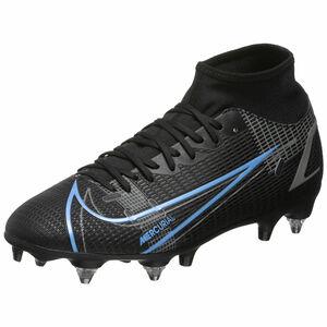 Mercurial Superfly 8 Academy DF SG-Pro AC Fußballschuh Herren, schwarz / blau, zoom bei OUTFITTER Online