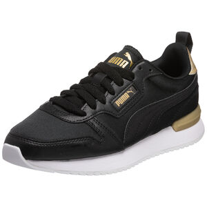 R78 Metallic Pop Sneaker Damen, schwarz / gold, zoom bei OUTFITTER Online