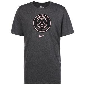 Paris St. Germain Evergreen Crest T-Shirt Herren, grau, zoom bei OUTFITTER Online