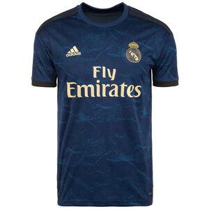 Real Madrid Trikot Away 2019/2020 Herren, dunkelblau / gold, zoom bei OUTFITTER Online