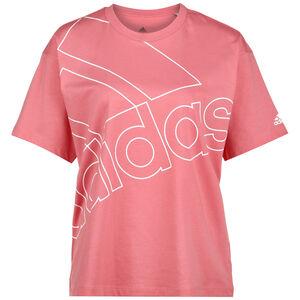 Giant Logo T-Shirt Damen, rosa / weiß, zoom bei OUTFITTER Online