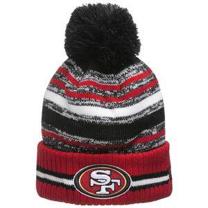 NFL San Francisco 49ers Sideline Bobble Knit Mütze, , zoom bei OUTFITTER Online