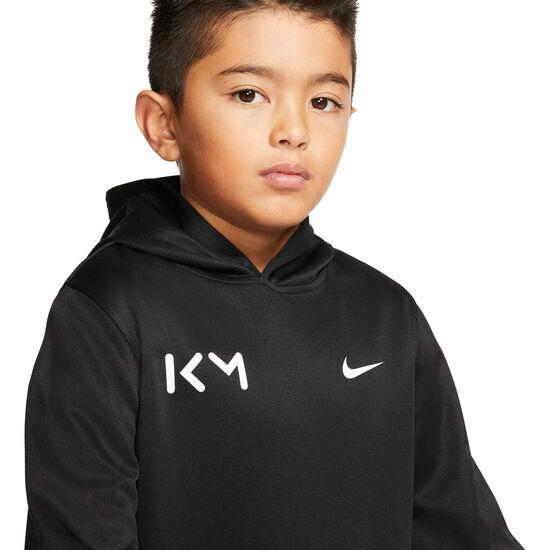 Kylian Mbappé Kapuzenpullover Kinder, schwarz / weiß, zoom bei OUTFITTER Online