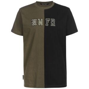 Old English Mixed T-Shirt Herren, schwarz / oliv, zoom bei OUTFITTER Online