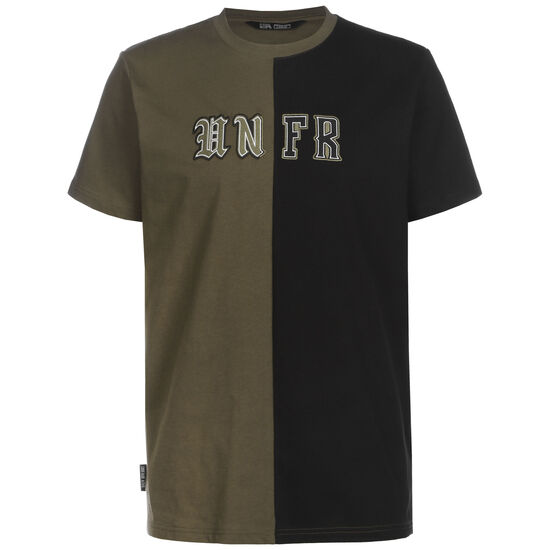 Old English Mixed T-Shirt Herren, schwarz / oliv, zoom bei OUTFITTER Online