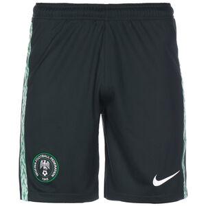 Nigeria Shorts Away Stadium 2020 Herren, dunkelgrün / weiß, zoom bei OUTFITTER Online