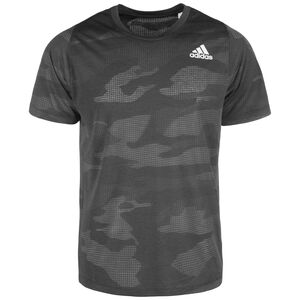 Freelift Camo Burnout Trainingsshirt Herren, schwarz, zoom bei OUTFITTER Online