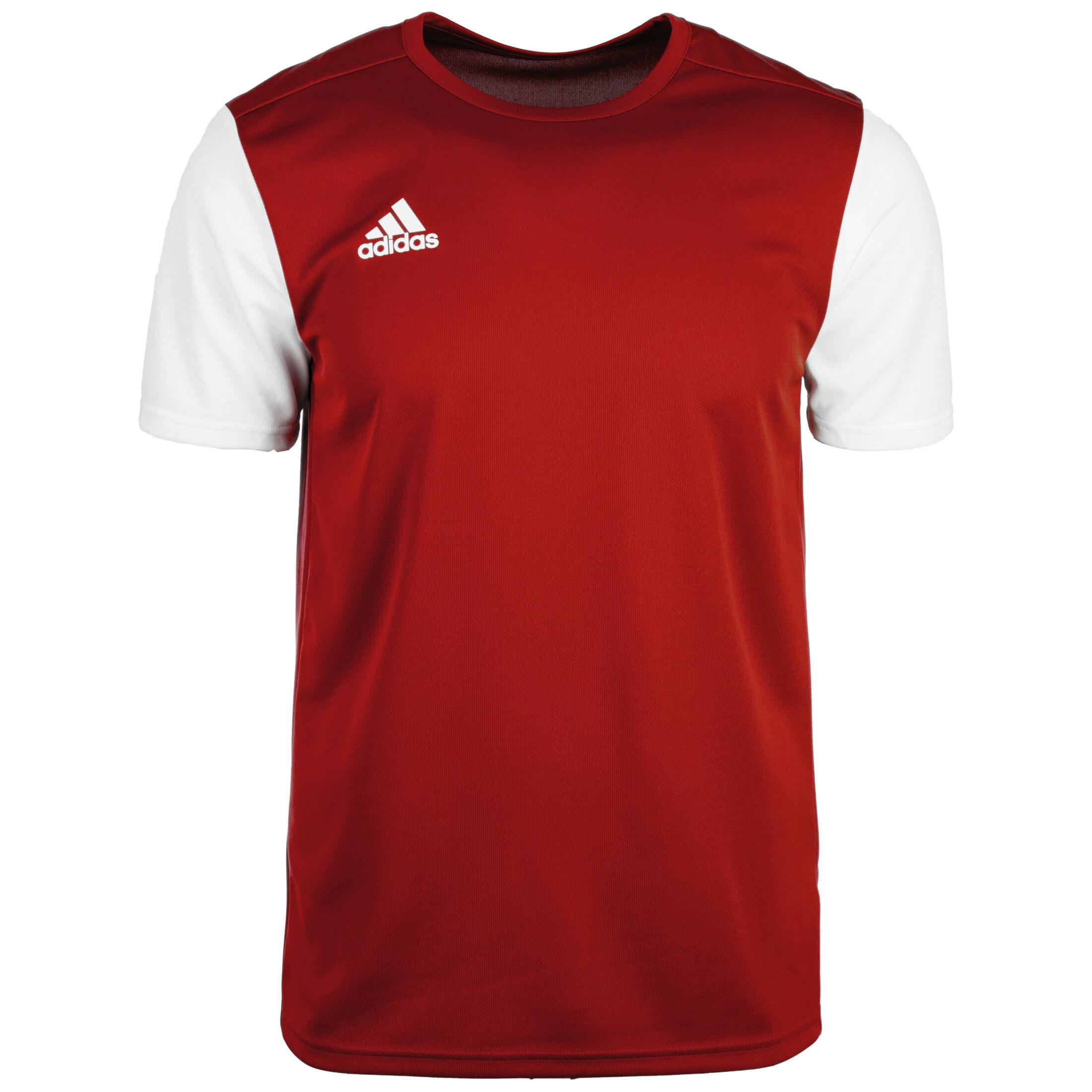 adidas shop wien, adidas Logo T Shirt Herren rotweiß
