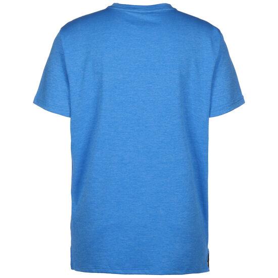 Heather Cat Trainingsshirt Herren, blau / dunkelblau, zoom bei OUTFITTER Online