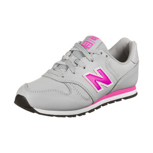 YC373-M Sneaker Kinder, grau / pink, zoom bei OUTFITTER Online