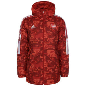 FC Arsenal Chinese New Year Padded Jacke Herren, rot / weiß, zoom bei OUTFITTER Online