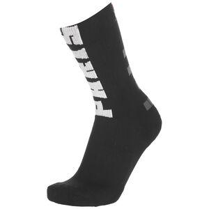 Paris St.-Germain SNKR Crew Socken, schwarz / weiß, zoom bei OUTFITTER Online