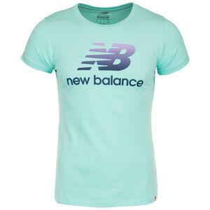 Essentials T-Shirt Damen, grün / violett, zoom bei OUTFITTER Online
