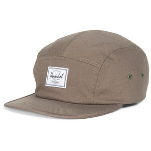 Glendale Five Panel Cap, braun / weiß, zoom bei OUTFITTER Online