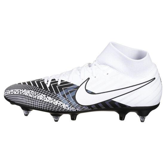 Mercurial Superfly 7 Academy SG-Pro Fußballschuh Herren, weiß / schwarz, zoom bei OUTFITTER Online