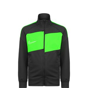 Academy Trainingsjacke Kinder, anthrazit / neongrün, zoom bei OUTFITTER Online