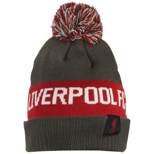 FC Liverpool Pom Beanie, anthrazit / rot, zoom bei OUTFITTER Online