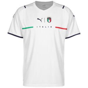 Italien Trikot Away EM 2021 Herren, weiß / blau, zoom bei OUTFITTER Online