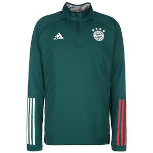 FC Bayern München Warm Trainingssweat Herren, dunkelgrün / rot, zoom bei OUTFITTER Online