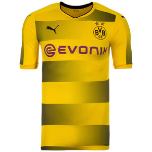 Borussia Dortmund Authentic Trikot Home 2017/2018 Herren, Gelb, zoom bei OUTFITTER Online