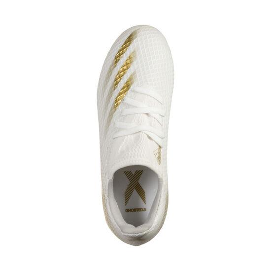 X Ghosted.3 FG Fußballschuh Kinder, gold / hellgrau, zoom bei OUTFITTER Online
