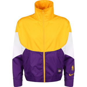 Los Angeles Lakers Trainingsjacke Damen, blau / gelb, zoom bei OUTFITTER Online
