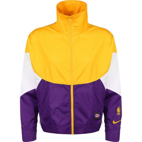 Los Angeles Lakers Trainingsjacke Damen, blau / gelb, zoom bei OUTFITTER Online