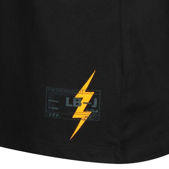LeBron Dry Basketballshirt Herren, schwarz / dunkelgelb, zoom bei OUTFITTER Online