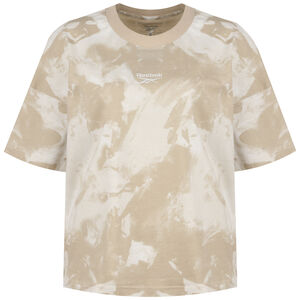 Meet You There Tie Dye T-Shirt Damen, beige / weiß, zoom bei OUTFITTER Online