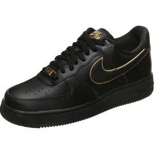 Air Force 1 '07 Essential Sneaker Damen, schwarz / gold, zoom bei OUTFITTER Online