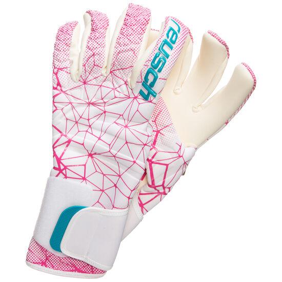 Pure Contact II G3 Womens World Cup Torwarthandschuhe Damen, weiß / pink, zoom bei OUTFITTER Online