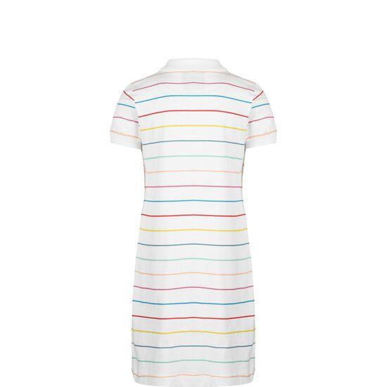 Polo Shirtkleid Kinder, weiß / bunt, zoom bei OUTFITTER Online