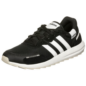 Retro Runner Sneaker Damen, schwarz / weiß, zoom bei OUTFITTER Online