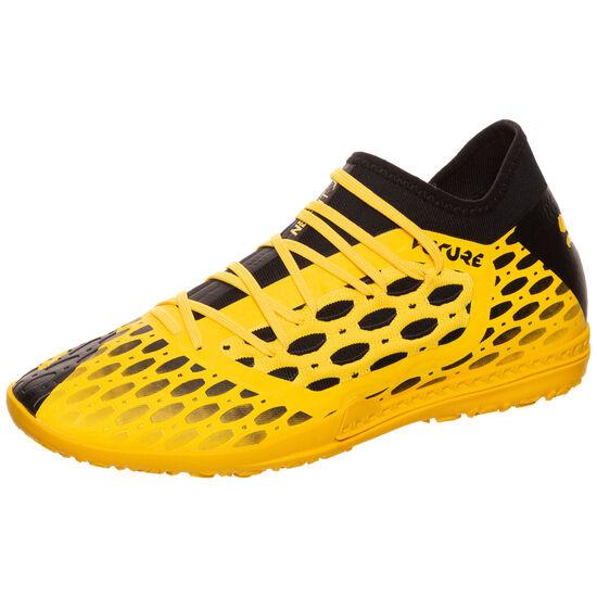 Future 5.3 NETFIT TT Fußballschuh Herren, gelb / schwarz, zoom bei OUTFITTER Online