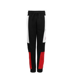 Air Jogginghose Kinder, schwarz / rot, zoom bei OUTFITTER Online