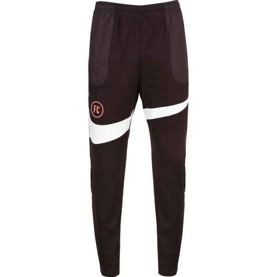 F.C. Trainingshose Herren, bordeaux / weiß, zoom bei OUTFITTER Online