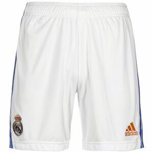 Real Madrid Shorts Home 2021/2022 Herren, weiß / blau, zoom bei OUTFITTER Online