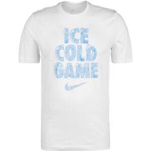 Dry Ice Cold Basketballshirt Herren, weiß / blau, zoom bei OUTFITTER Online