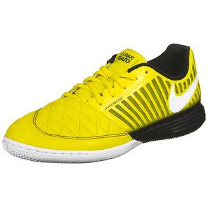 Lunar Gato II Indoor Fußballschuh Herren, gelb / weiß, zoom bei OUTFITTER Online
