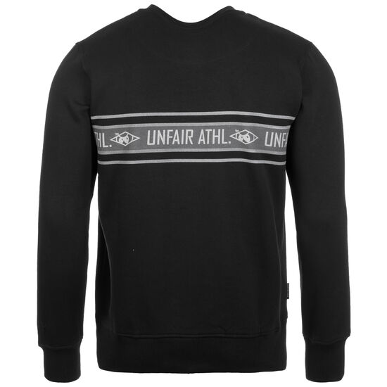 Athletics Striped Sweatshirt Herren, schwarz / grau, zoom bei OUTFITTER Online