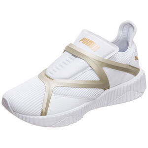 Defy Cage Sneaker Damen, weiß / gold, zoom bei OUTFITTER Online