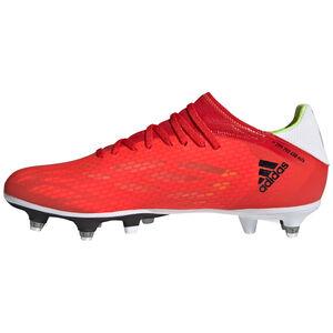 X Speedflow.3 SG Fußballschuh Herren, rot / schwarz, zoom bei OUTFITTER Online