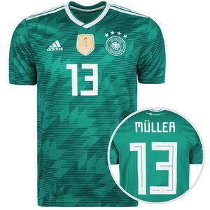 DFB Trikot Away Müller WM 2018 Herren, Grün, zoom bei OUTFITTER Online
