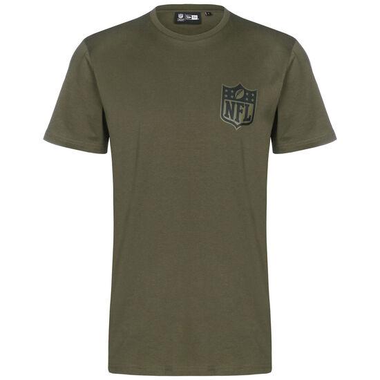 NFL Digi Camo SS Trainingsshirt Herren, dunkelgrün, zoom bei OUTFITTER Online